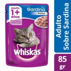 Alimento-Para-Gatos-Whiskas-Pasta-Sardina-85-Gr-1-42084
