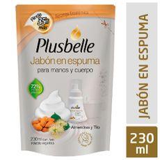 Jabon-Plusbelle-Almendras-Y-Tilo-Repuesto-230-Ml-1-25772