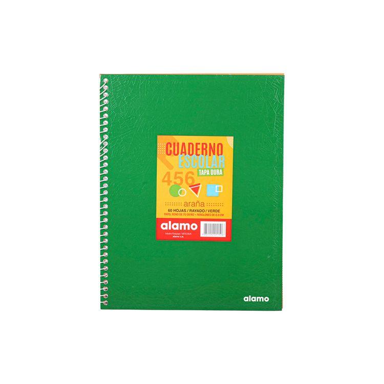 Cuadernos-Alamo-Escolar-Rayado-Verde-1-845287