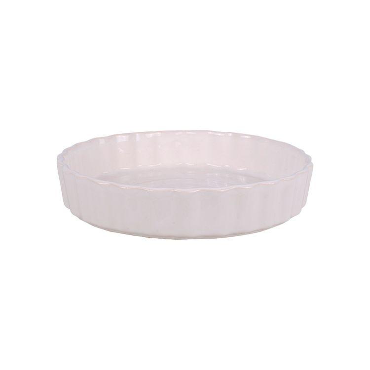 Tartera-De-Ceramica-23-X-4-5cm-Blanca-1-843467