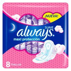 Toallas-Higi-nicas-Always-Suave-Maxi-Protecci-n-8-Unidades-1-853238