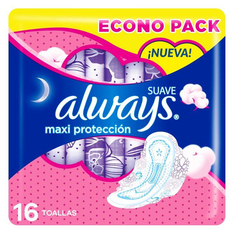 Toallas-Higi-nicas-Always-Suave-Maxi-Protecci-n-16-Unidades-1-853243
