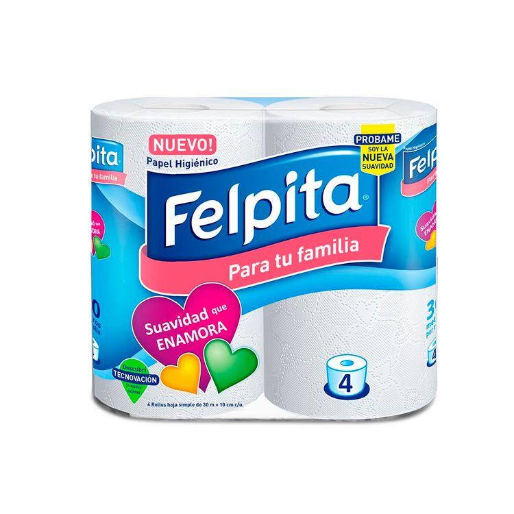 Papel-Higi-nico-Felpita-Hoja-Simple-Blanco-1-43929