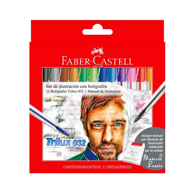 Bol-grafos-Trilux-X12-Colores-Faber-1-856224