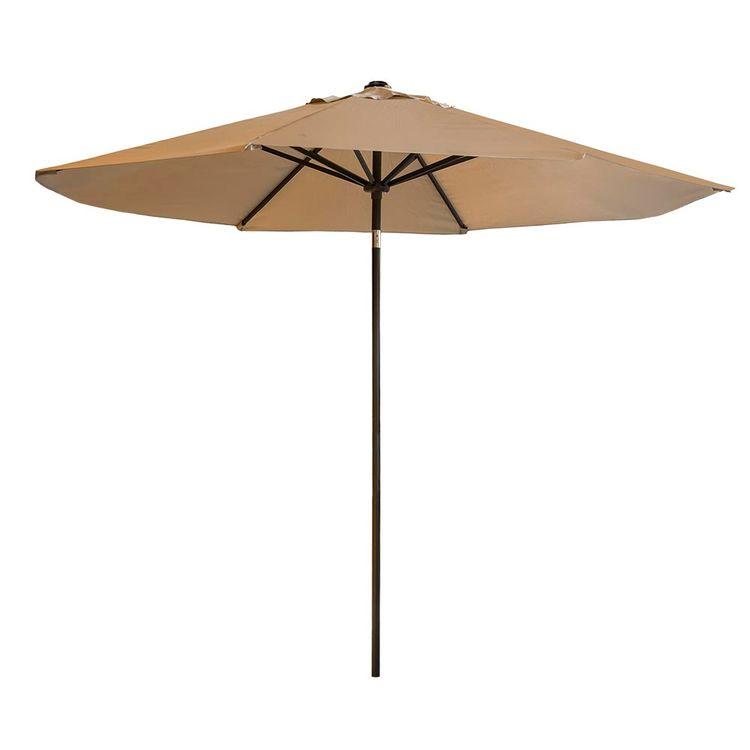 Sombrilla-Garden-Life-220cm-Beige-1-856090
