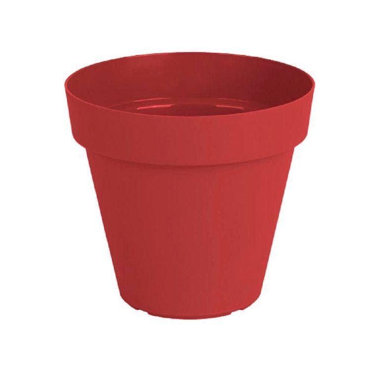 Maceta-Plast-Capri-Outzen-14cm-Rojo-1-856434