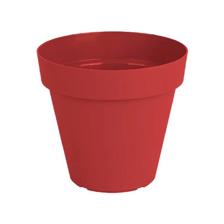 Maceta-Plast-Capri-Outzen-18cm-Rojo-1-856437