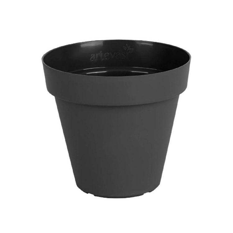 Maceta-Plast-Capri-Outzen-25cm-Antracita-1-856444