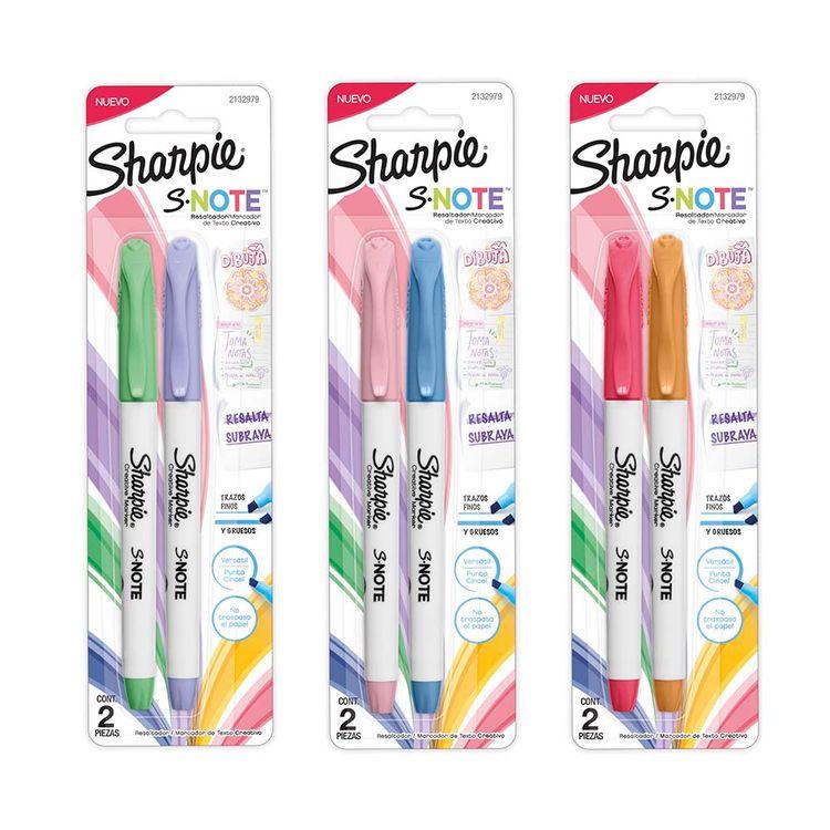 Resaltador-marcad-Note-Sur-Bx2-Sharpie-1-856258