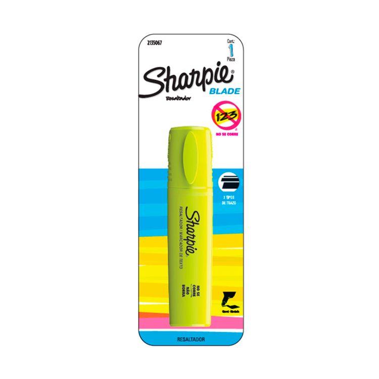 Resaltador-Blade-Amarillo-Bx1-Sharpie-1-856263