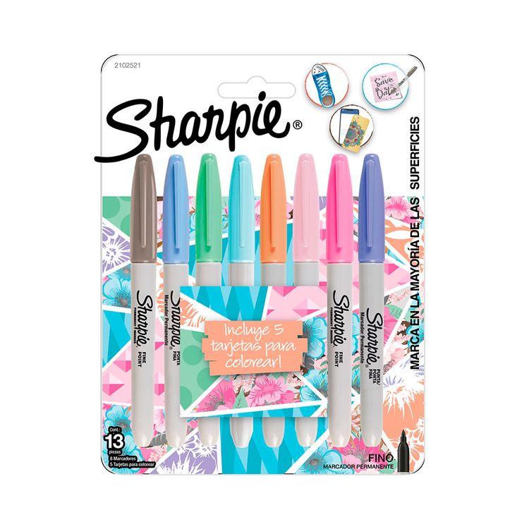 Marcador-Fino-Surtido-Pastel-Bx8-Sharpie-1-856268