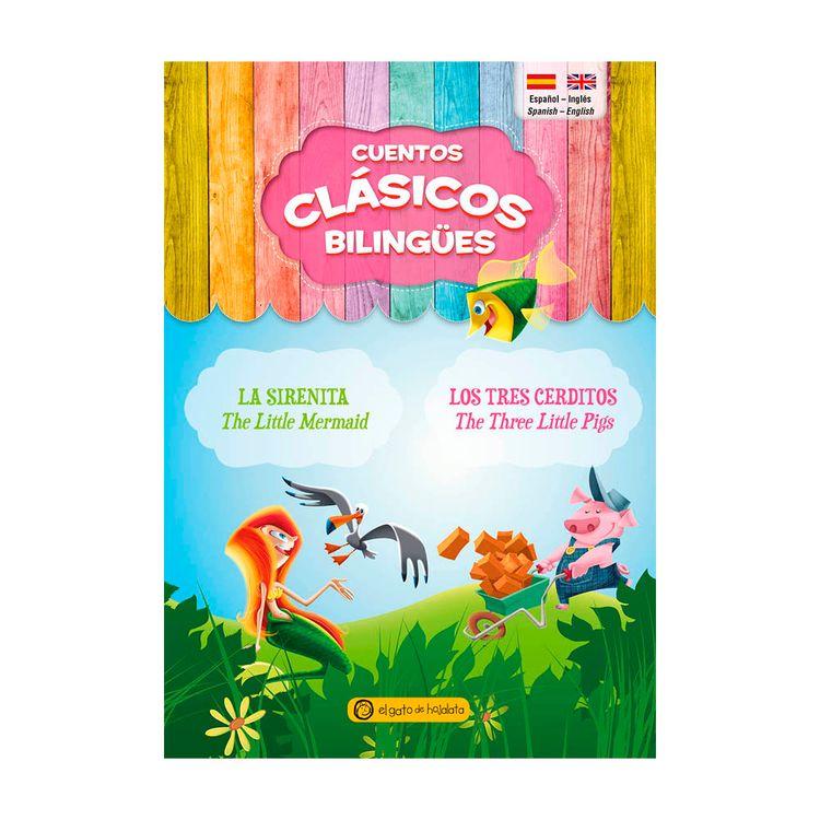Libros-Sirenita-tres-Cerditos-bilingue-1-857458