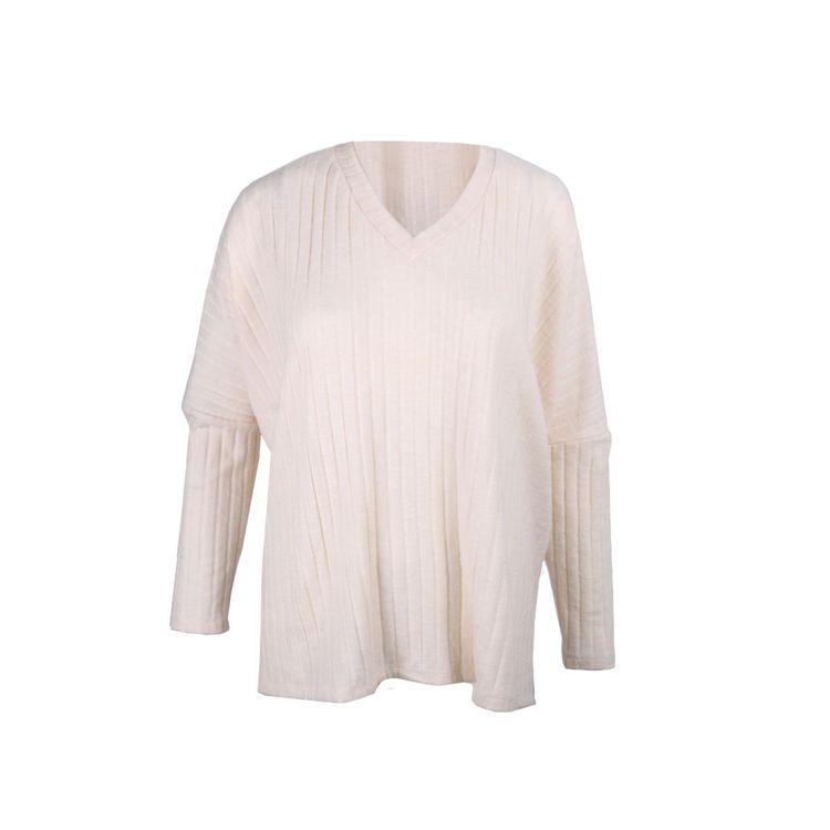 Sweater-Mujer-Morley-Lanilla-Escote-V-Crudo-1-856505