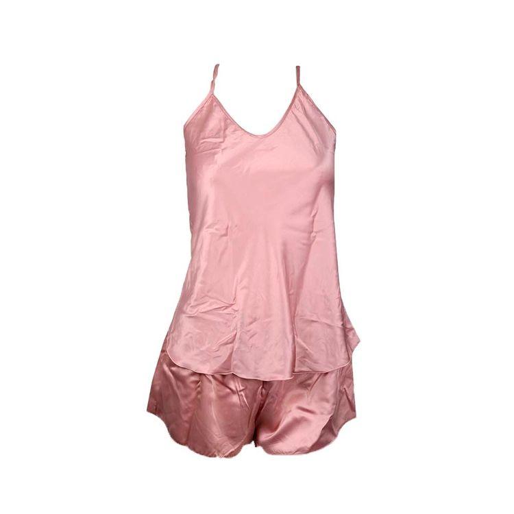 Pijama-Mujer-Saten-Liso-Rosa-Beige-Negro-1-845502