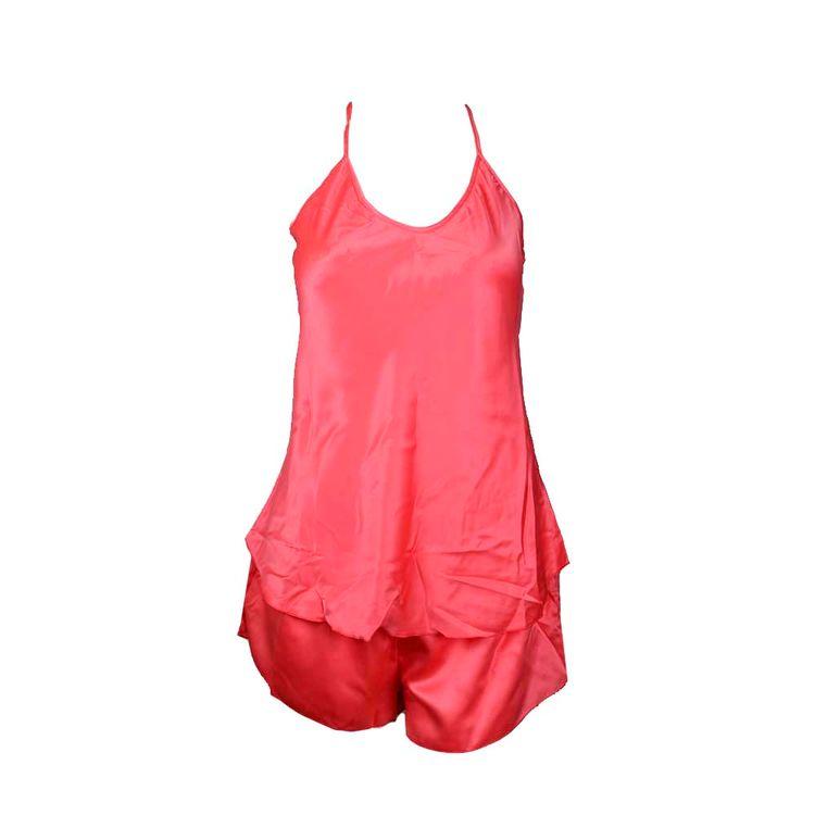 Pijama-Mujer-Saten-Liso-Azul-Coral-Negro-1-845504