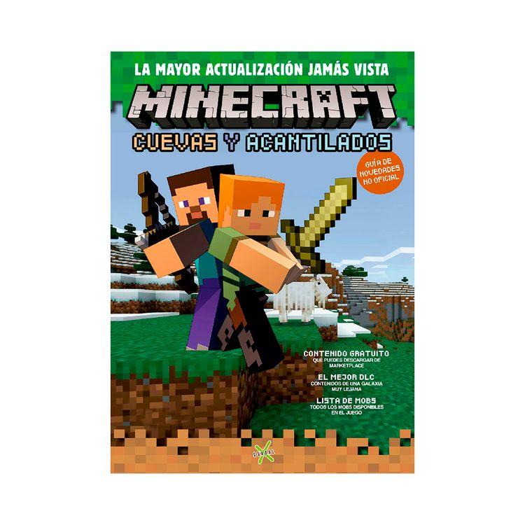 Libro-Minecraft-cuevas-Y-Acantilados-Guadal-1-876434