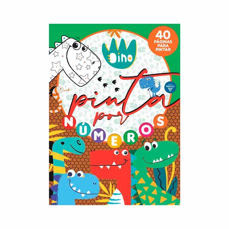 Libro-Dinosaurios-pintar-Por-Numeros-Vertice-1-876447