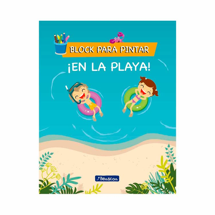Libro-En-La-Playa-block-Para-Pintar-Prh-1-876453