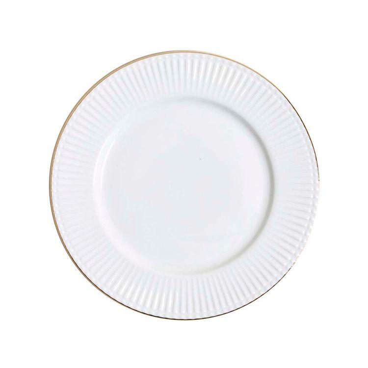 Plato-Porcelana-Lineas-Bordes-Dorado-20-5-Cm-1-844382