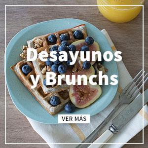 Sección de desayunos y brunchs