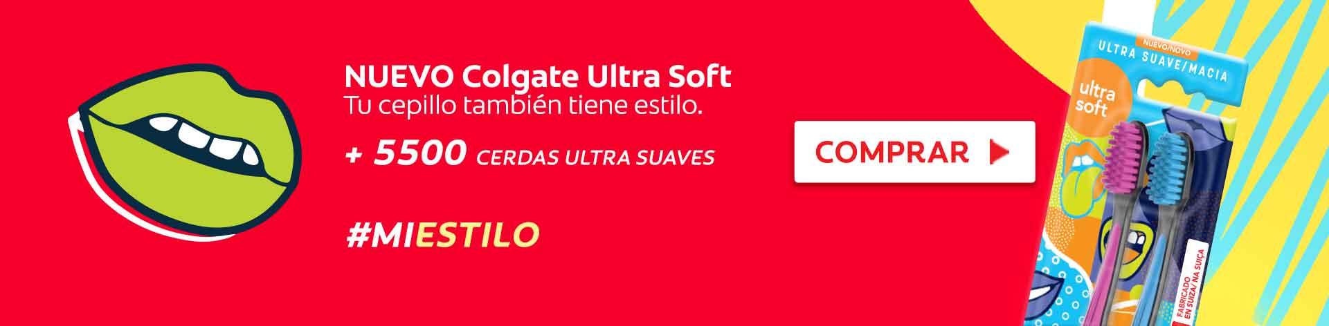 Nuevo Colgate Ultra Soft