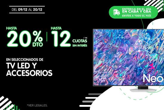 Hasta 15% // 20% TC En Seleccionados de Heladeras - Freezer - Lavarropas